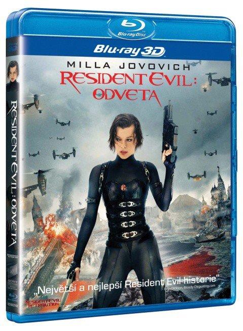 Resident Evil: Odveta - 2D + 3D (BLU-RAY)