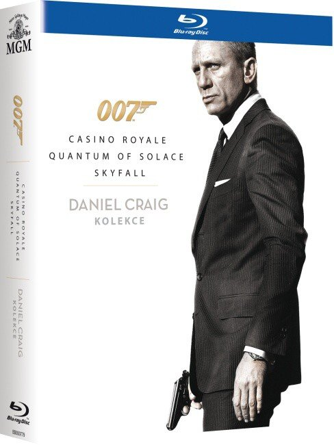 Daniel Craig James Bond kolekce - 3xBLU-RAY