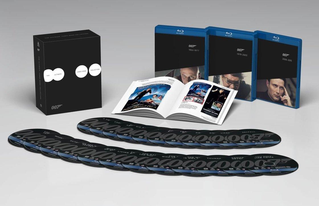 James Bond - Kompletní BLU-RAY kolekce (23 BLU-RAY + BONUS BLU-RAY + BOOKLET) - PREMIUM