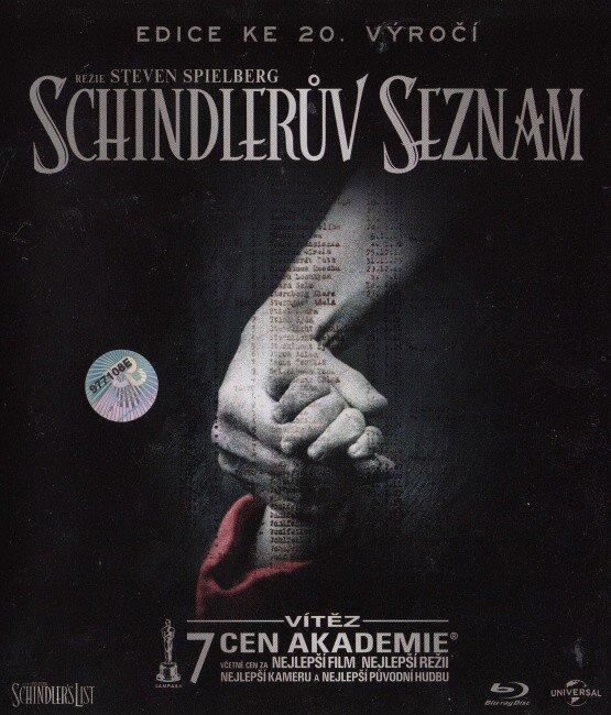 Schindlerův seznam (1xBLU-RAY+1xBONUS DVD) - DIGIBOOK