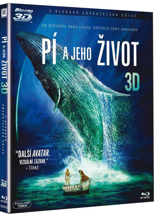 Pí a jeho život (2 BLU-RAY) (2D+3D)