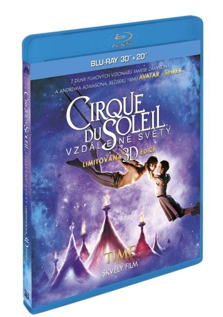 Cirque Du Soleil: Vzdálené světy (2D+3D) (2 BLU-RAY) - české titulky