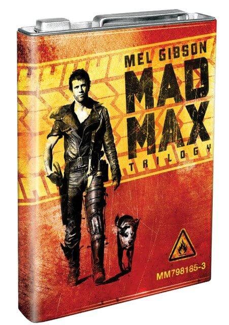 Šílený Max Kolekce 1-3 (3 BLU-RAY) - plechový kanystr
