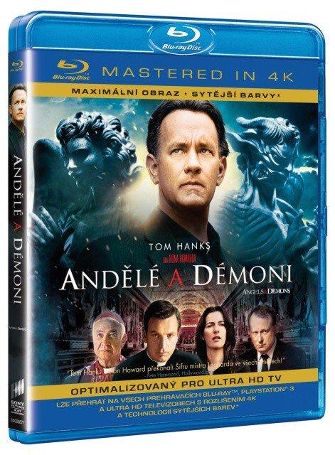 Andělé a démoni (4K) (BLU-RAY)
