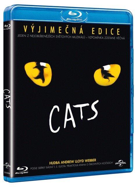 Cats (BLU-RAY) - muzikál - české titulky