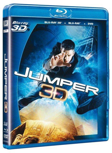 Jumper COMBO (BLU-RAY 3D + BLU-RAY + DVD)