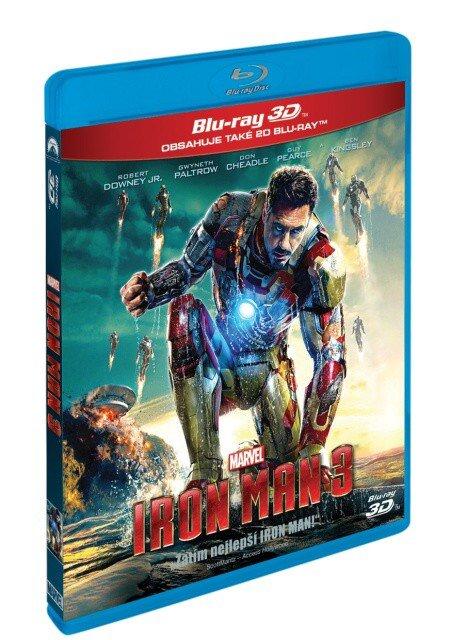 Iron Man 3 (3D+2D) (2 BLU-RAY)