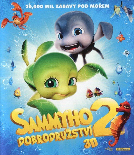 Sammyho dobrodružství 2 - 2D + 3D (BLU-RAY)