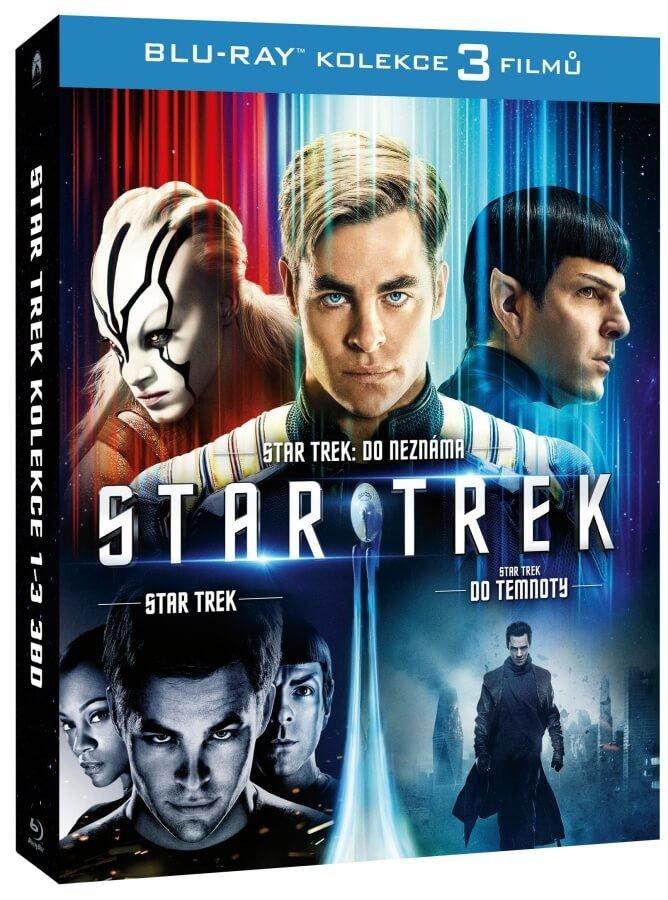 Star Trek kolekce 1-3 (3xBLU-RAY)