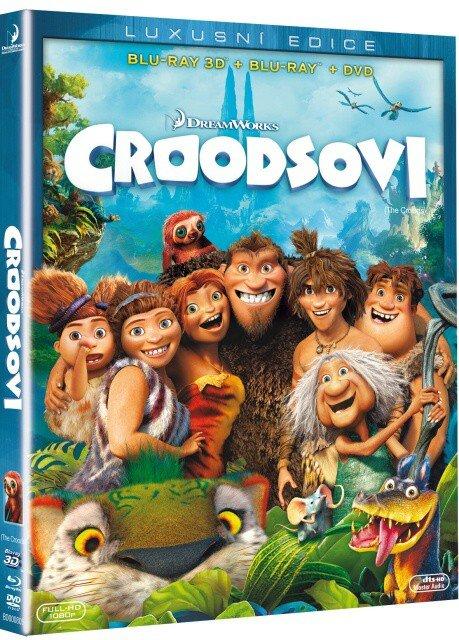 Croodsovi COMBO (3D BLU-RAY+BLU-RAY+DVD)