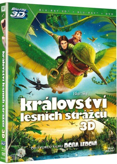 Království lesních strážců (3D BLU-RAY+BLU-RAY+DVD)