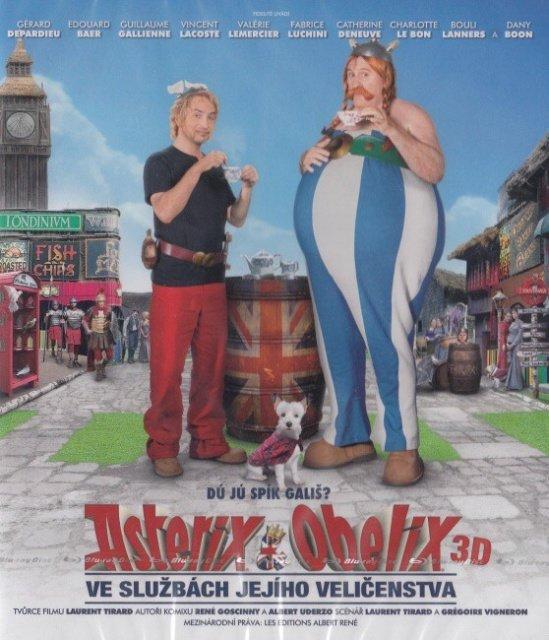 Asterix a Obelix ve službách jejího veličenstva - 2D + 3D (BLU-RAY)