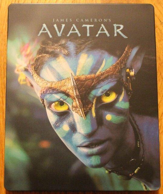 Avatar (2D+3D) (BLU-RAY 3D+BLU-RAY) - STEELBOOK