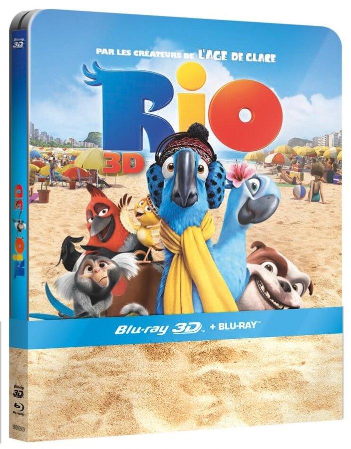 Rio (2D+3D) (BLU-RAY 3D+BLU-RAY) - STEELBOOK