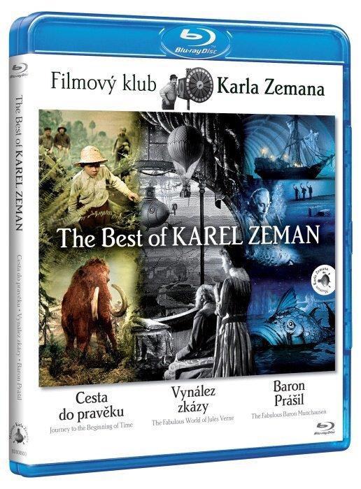 The Best of KAREL ZEMAN - kolekce (Cesta do pravěku, Baron Prášil, Vynález zkázy) (BLU-RAY)