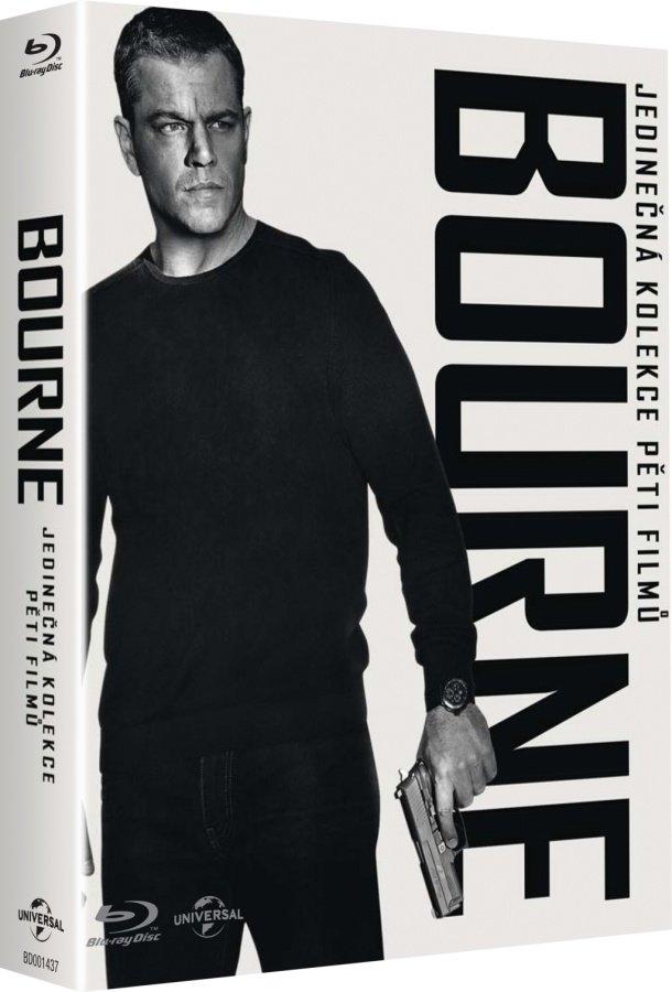 Bourneova kolekce kompletní (6xBLU-RAY)