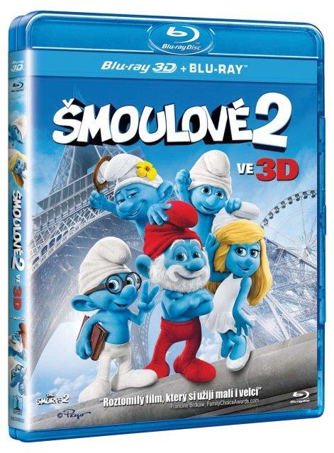 Šmoulové 2 - FILM (4K) (2D+3D) (1xBLU-RAY)