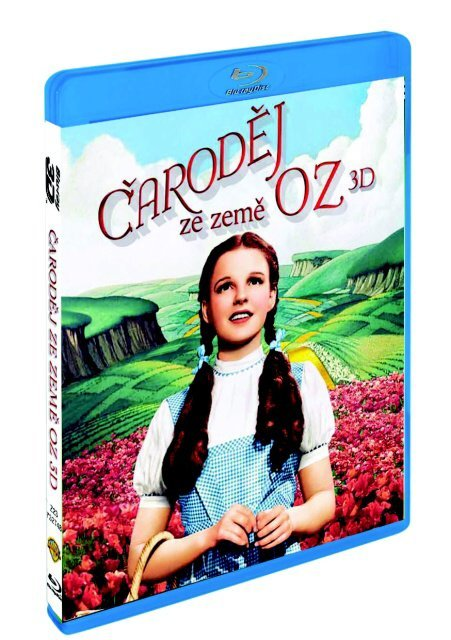 Čaroděj ze země Oz: (2D+3D) (2xBLU-RAY)