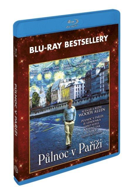 Půlnoc v Paříži (BLU-RAY) - BLU-RAY bestsellery