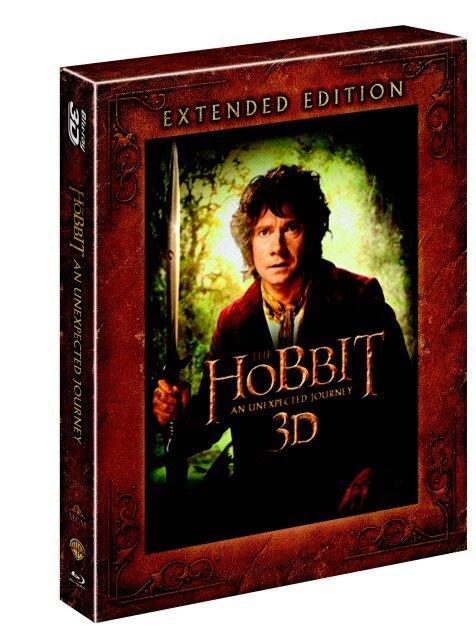 Hobit: Neočekávaná cesta (5xBD) (3D+2D) - prodloužená verze