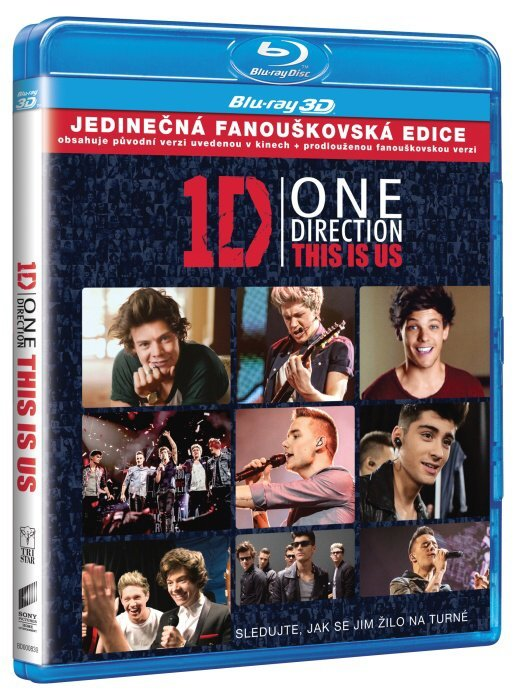 One Direction: This is Us (2D+3D) (2xBLU-RAY)