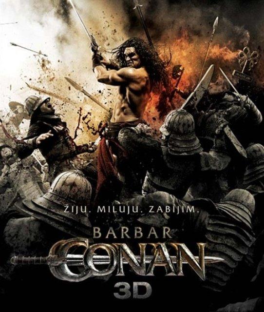 Barbar Conan (2011) - 2D + 3D (BLU-RAY)