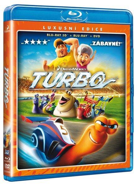 Turbo - COMBO (2D+3D) (2xBLU-RAY) + DVD Turbo