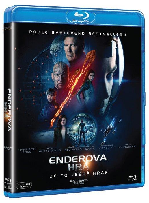 Enderova hra (Ender's Game) (BLU-RAY)