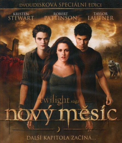 Nový měsíc: Twilight sága (1xBLU-RAY+1xBONUSOVÉ DVD)