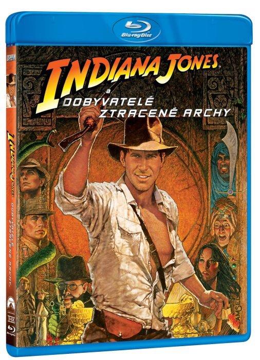 Indiana Jones a dobyvatelé ztracené archy (BLU-RAY)
