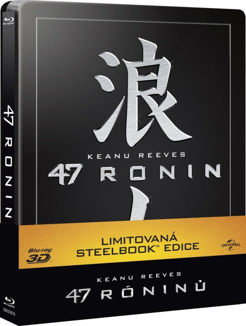 47 róninů (2D+3D) (BLU-RAY 3D+BLU-RAY) - STEELBOOK