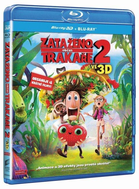 Zataženo, občas trakaře 2 (2D+3D) (2xBLU-RAY) - obsahuje 4 krátké filmy