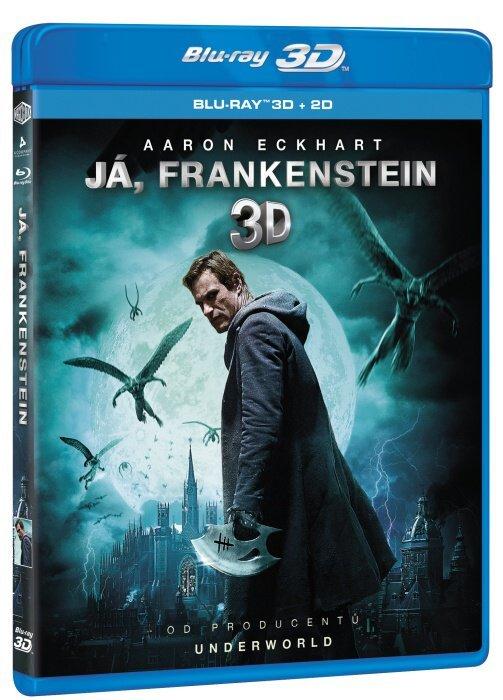 Já, Frankenstein (2D+3D) (BLU-RAY)