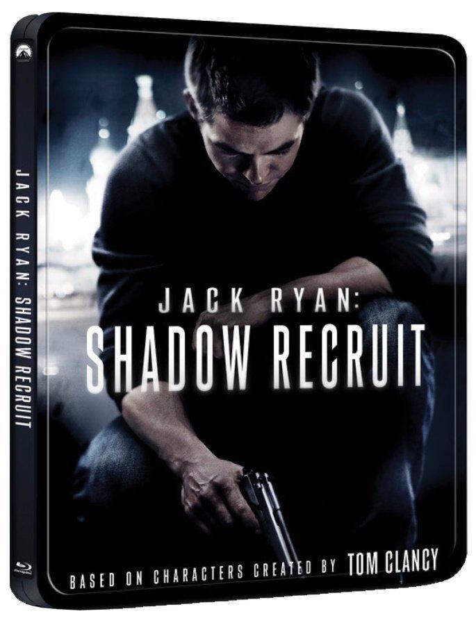 Jack Ryan: V utajení (BLU-RAY) - STEELBOOK