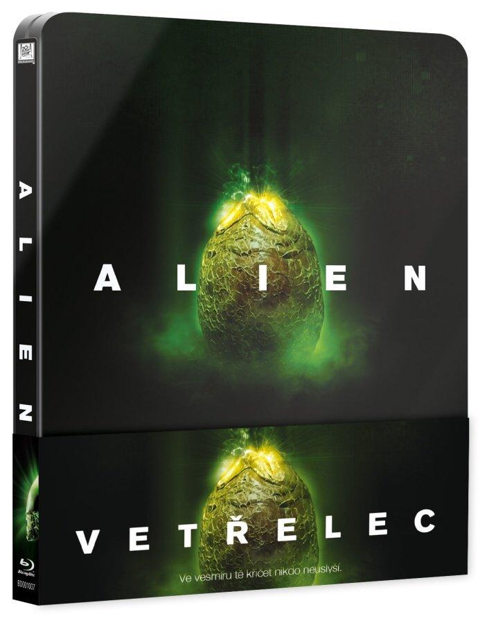 Vetřelec (BLU-RAY) - kino + prodloužená verze - STEELBOOK