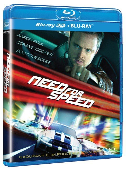 Need for Speed (2D+3D) (1xBLU-RAY)
