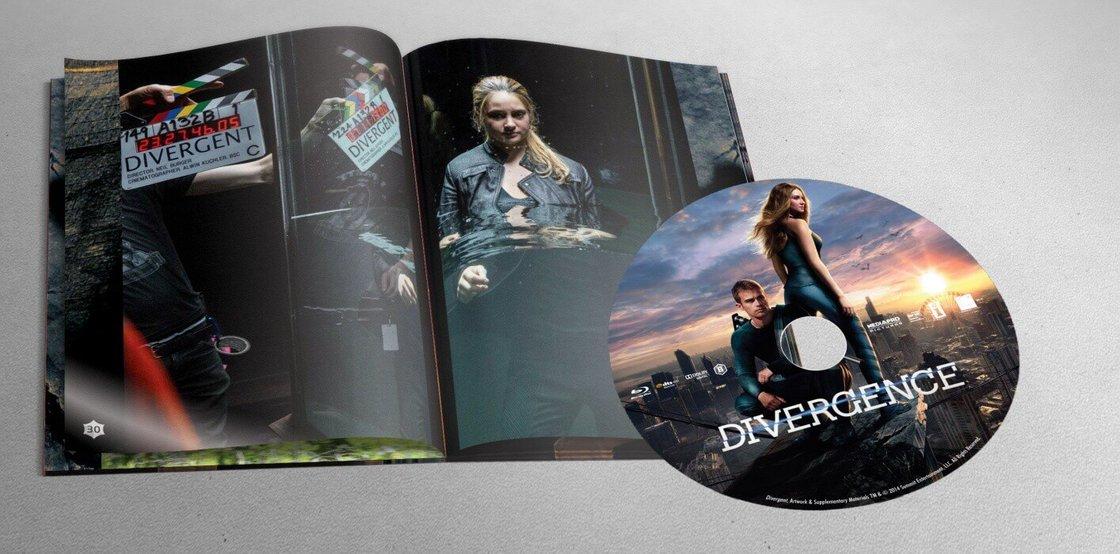 Divergence (BLU-RAY) - DIGIBOOK (Limitovaná sběratelská edice)