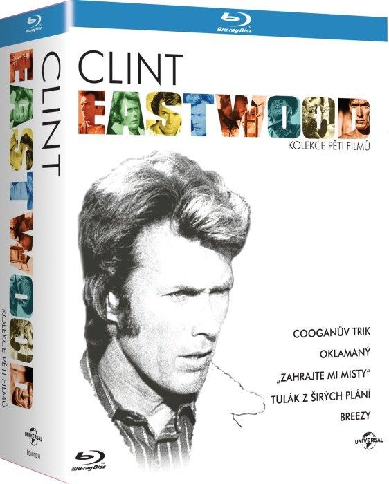 Clin Eastwood: kolekce pěti filmů (5xBLU-RAY) - české titulky