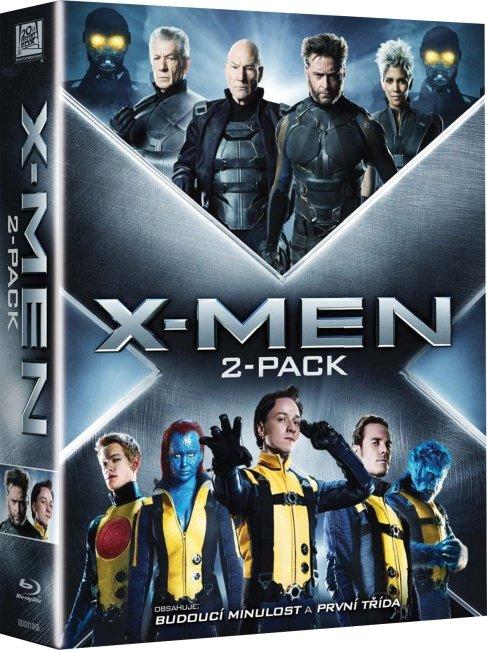 X-Men kolekce (X-Men - První třída a Budoucí minulost) - 2xBLU-RAY