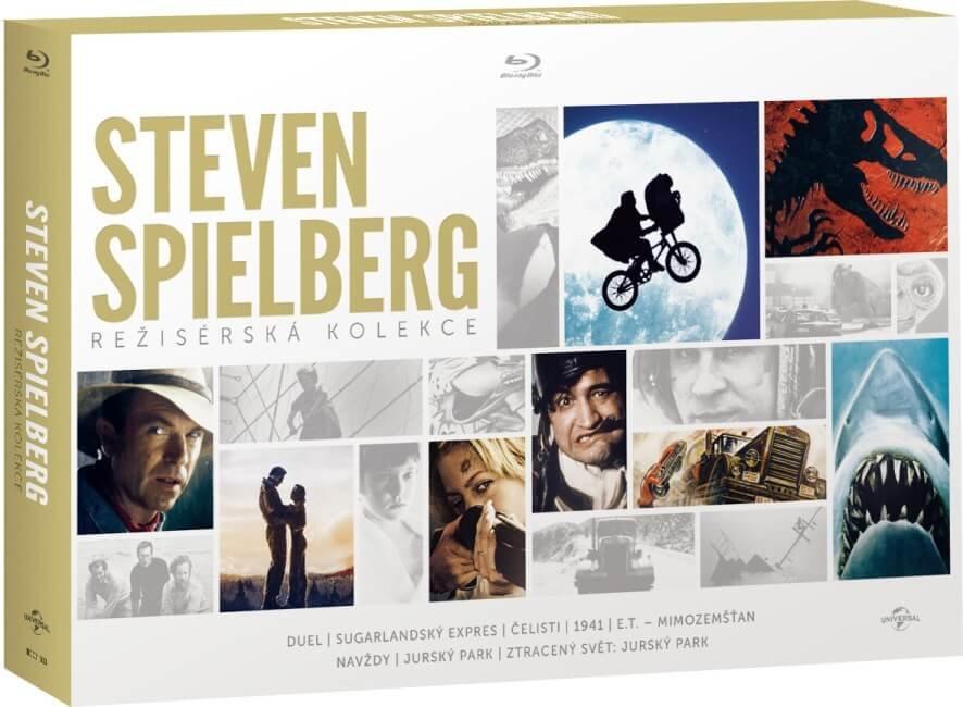 Steven Spielberg - Režisérská kolekce (8 BLU-RAY)