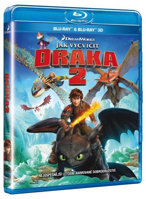 Jak vycvičit draka 2 (2D+3D) (BLU-RAY)