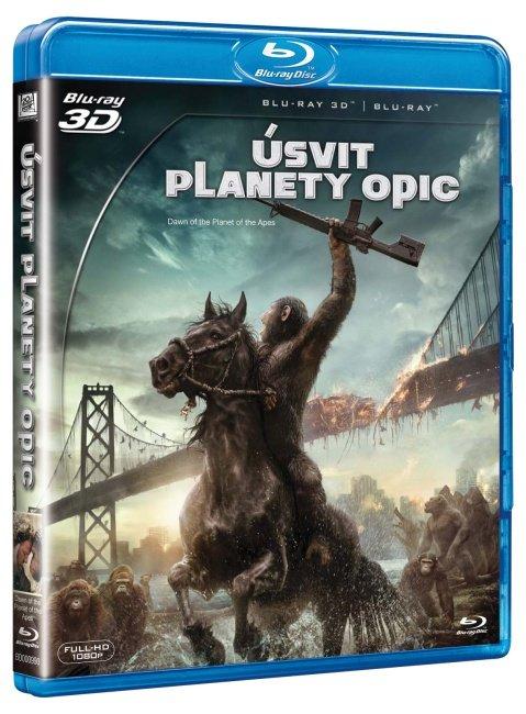 Úsvit planety opic (2D BLU-RAY+3D BLU-RAY)