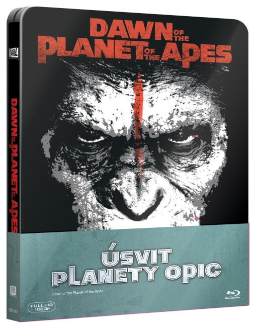 Úsvit planety opic (2D BLU-RAY+3D BLU-RAY) - STEELBOOK