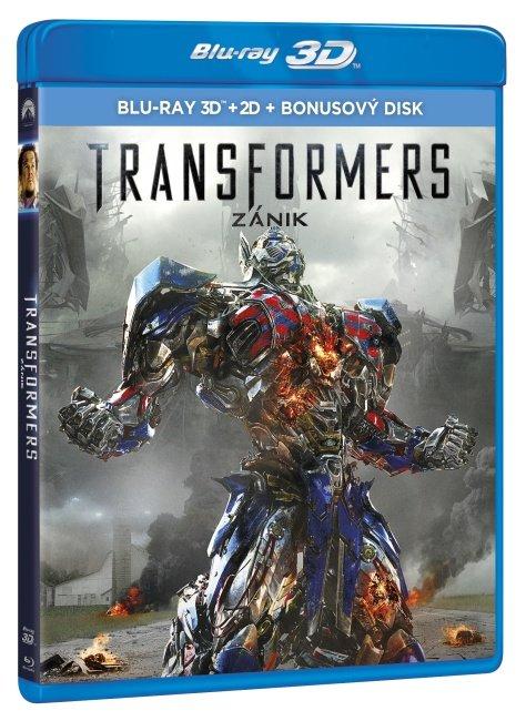 Transformers: Zánik 3xBLU-RAY (2D+3D) (3xBLU-RAY)