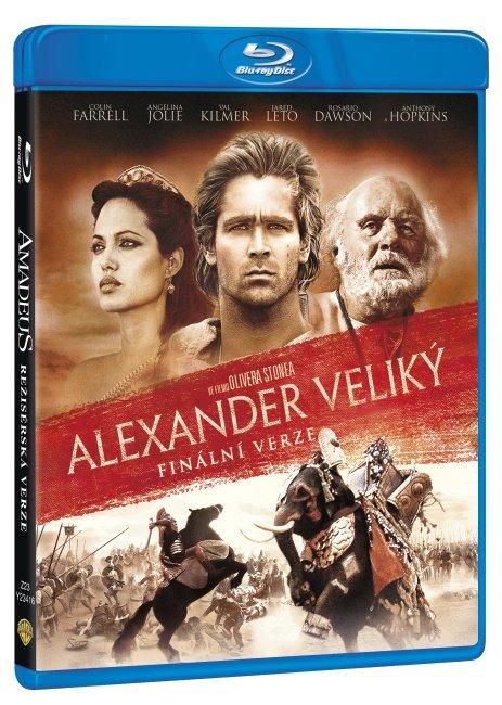 Alexander Veliký (2xBLU-RAY) - 2 verze filmu - kino+finální verze