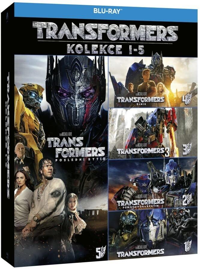 Transformers kolekce 1-4 - 4xBLU-RAY (2D verze)