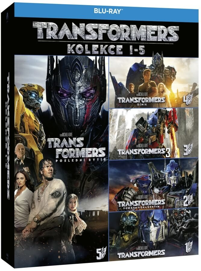 Transformers kolekce 1-5 (5 BLU-RAY)