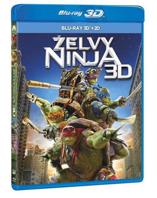 Želvy Ninja (2014) (2D+3D) (3D BLU-RAY+2D BLU-RAY)