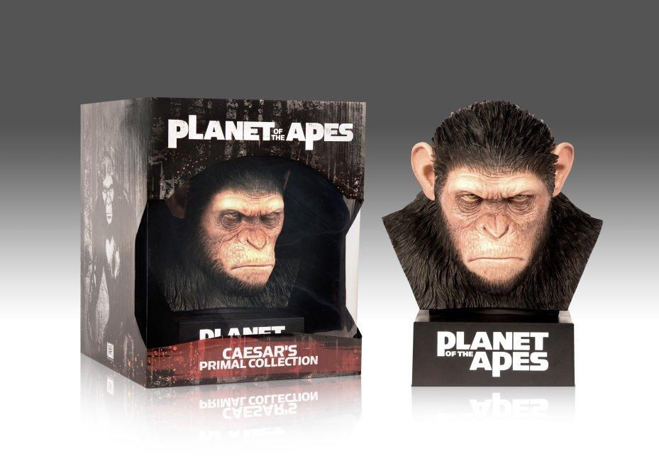 Planeta opic - komletní kolekce (8xBLU-RAY) - Caesarova replika+sběratelské předměty
