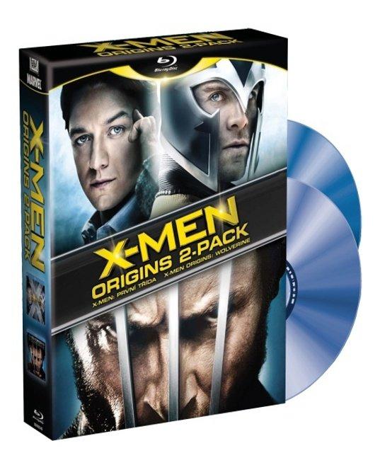 X-Men Origins: Wolverine a První třída - 2 BLU-RAY + Bonusový disk X-MEN
